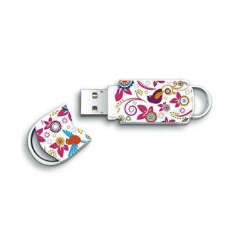 INTEGRAL Pendrive Pamięć  USB 8GB BirdPraktyczny, stylowy i lekki pendrive marki Integral o pojemności 8 GB. Idealny dla osób ceniących sobie styl i szyk. Podczas używania zatyczkę można założyć na pendrive z drugiej strony.  Motyw: ptaszki.