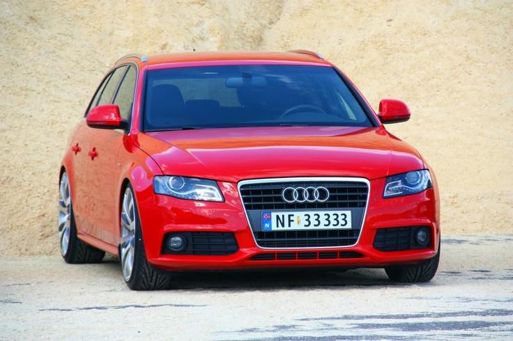 """Audi A4 Avant, 1,8 TFSI. 20"""" Tomason"""