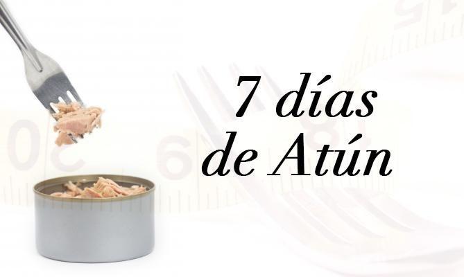 Dieta de atún.-Desayuno - 1 lata de atún en agua – Rodajas de piña (la cantidad a tu gusto) – Verduras (una ensalada de lechuga) – 3 cucharadas de aceite de oliva como aderezo a la ensalada Comida - 1 lata de atún en agua o 1 pechuga de pollo o 5 claras de huevo – 1 papa horneada mediana o 1 taza de arroz al vapor, de preferencia integral – Rodajas de melón, la cantidad que desees – Verduras – 3 cucharadas de aceite de oliva como aderezo Comida - 1 lata de atún – Rodajas de