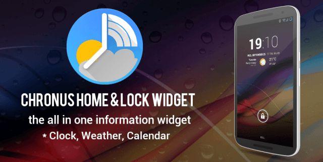 Chronus Pro Home & Lock Widget v5.6.0 Beta4