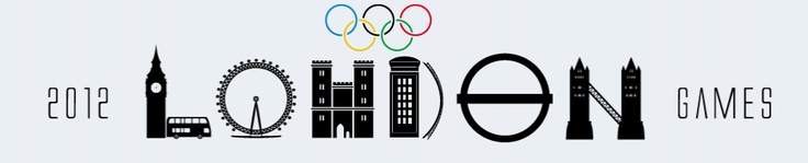 one of the logos for the london 2012 olympic games