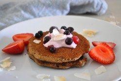 Panquecas de trigo sarraceno – Manias de uma dietista