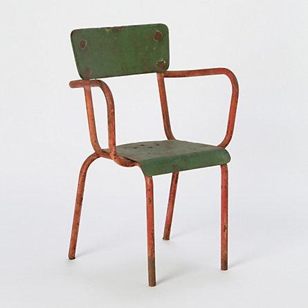 Vintage Iron Armchair