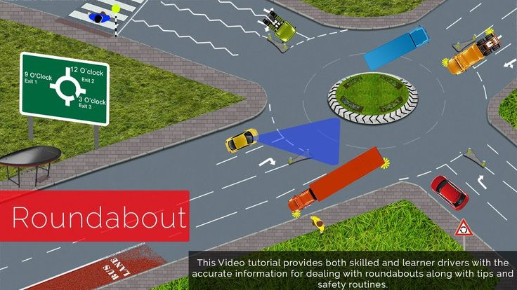 This Video tutorial provides both skilled and learner drivers with the accurate information for dealing with roundabouts along with tips and safety routines.