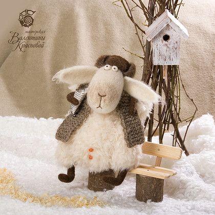 Игрушки животные, ручной работы. Ярмарка Мастеров - ручная работа Тут овцы!!!! (Целая отара!!!). Handmade.
