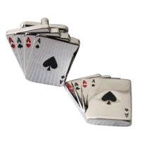INSPIRATION: Poker Cufflink