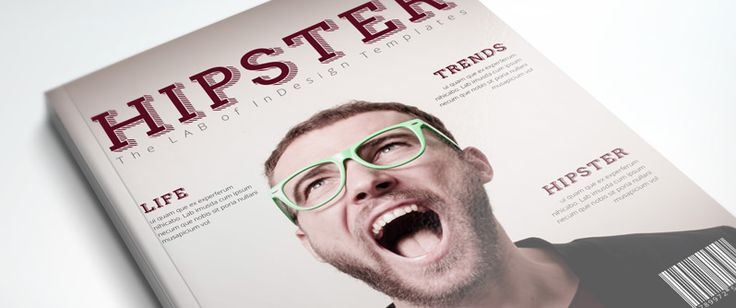 PRO Magazine Template: Hipster