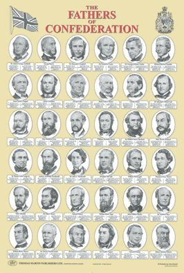 Fathers of Confederation Poster
