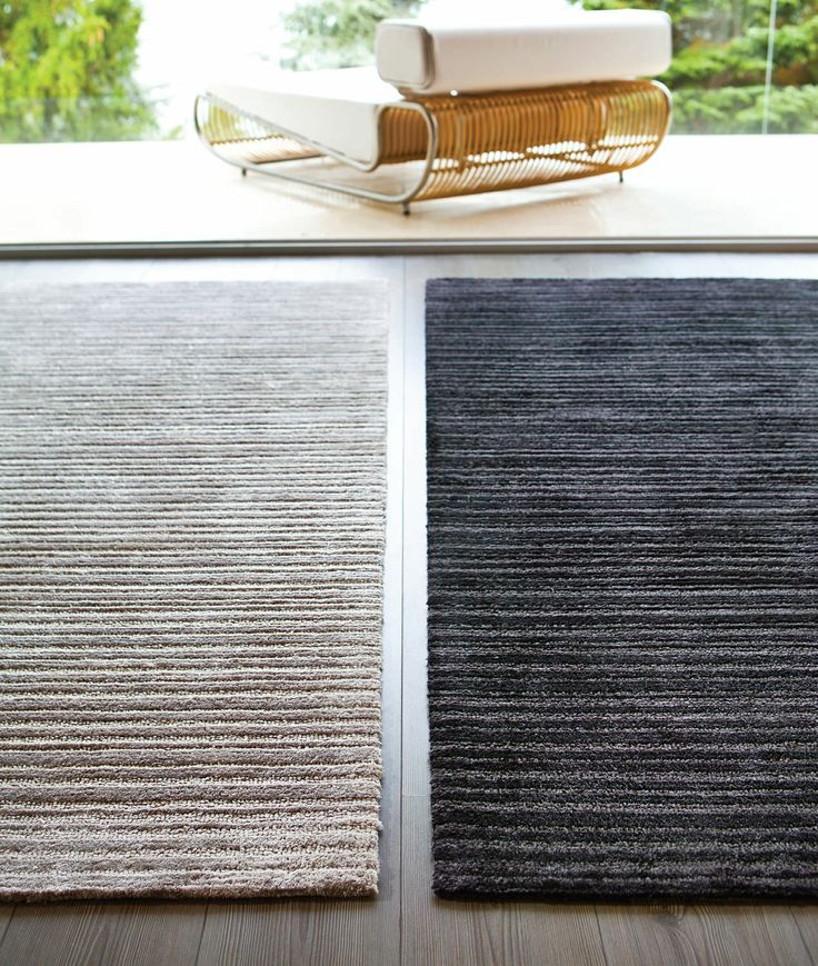 Contemporary striped rug synthetic - VISKY - STEPEVI