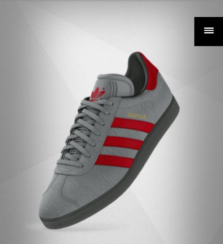 Adidas Mi-gazelle design