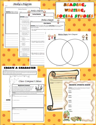 Thanksgiving Unit Thankful to the Core -You will be thankful to have your Thanksgiving lesson plans done! Enjoy Thankgiving with your class with this Common Core aligned Thanksgiving unit designed specifically for 4th grade! $