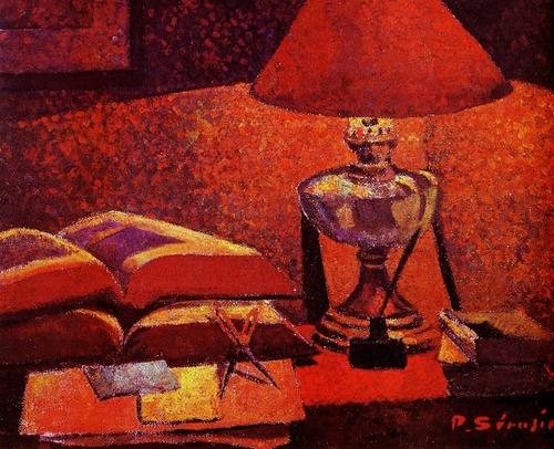 Paul Serusier - Under the lamp