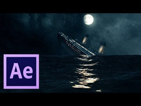After Effects TUTORIALS - Creating Realistic Ocean Scene - YouTube