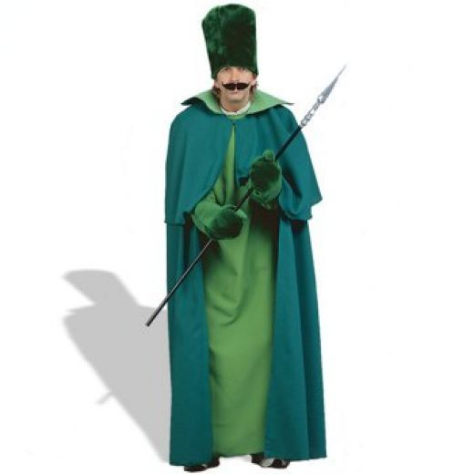 Wizard Of Oz Emerald City Guard Halloween Costume