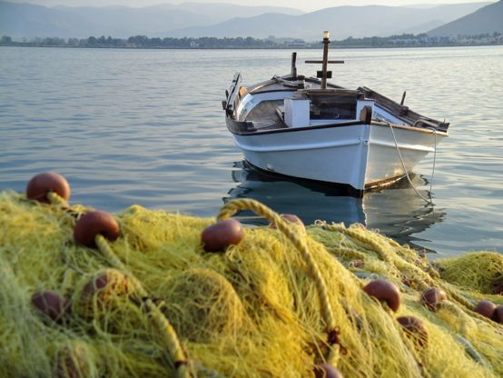 Fishing boat in the port of #Nafplio