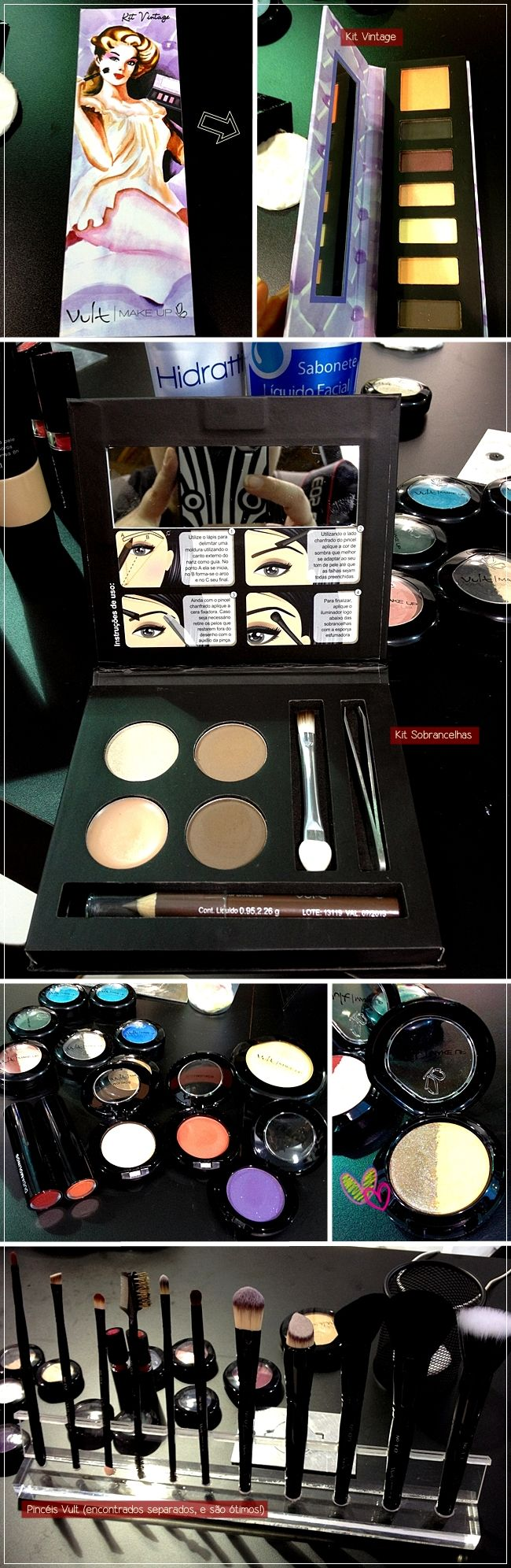Novidades da Vult na Beauty Fair #makeup