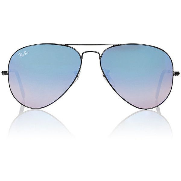 Ray-Ban Men's Large Aviator Sunglasses (€160) ❤ liked on Polyvore featuring men's fashion, men's accessories, men's eyewear, men's sunglasses, blue, mens blue aviator sunglasses, mens sunglasses, mens aviators, mens eyewear and mens mirrored aviator sunglasses