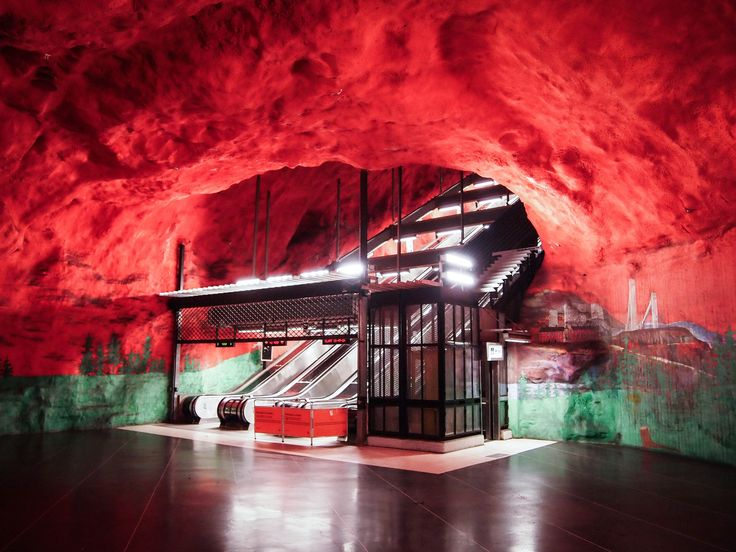 https://flic.kr/p/z2MzXm | Solna Centrum metro station (T-bana) | Solna Centrum metro station (T-bana), Stockholm, Sweden