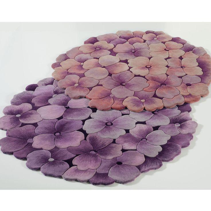 Emma Blooms Hydrangea Rug Craft Ideas Pinterest Rugs