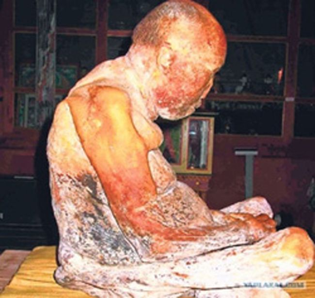 Dashi-Dorzho Itigilov: click the photo to be taken to the link to read the story on this mummy.....amazing.