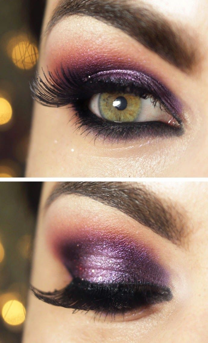 Frozen Purple Inspired Smokey Eye Makeup for Night Party look / Best LoLus Makeup Fashion