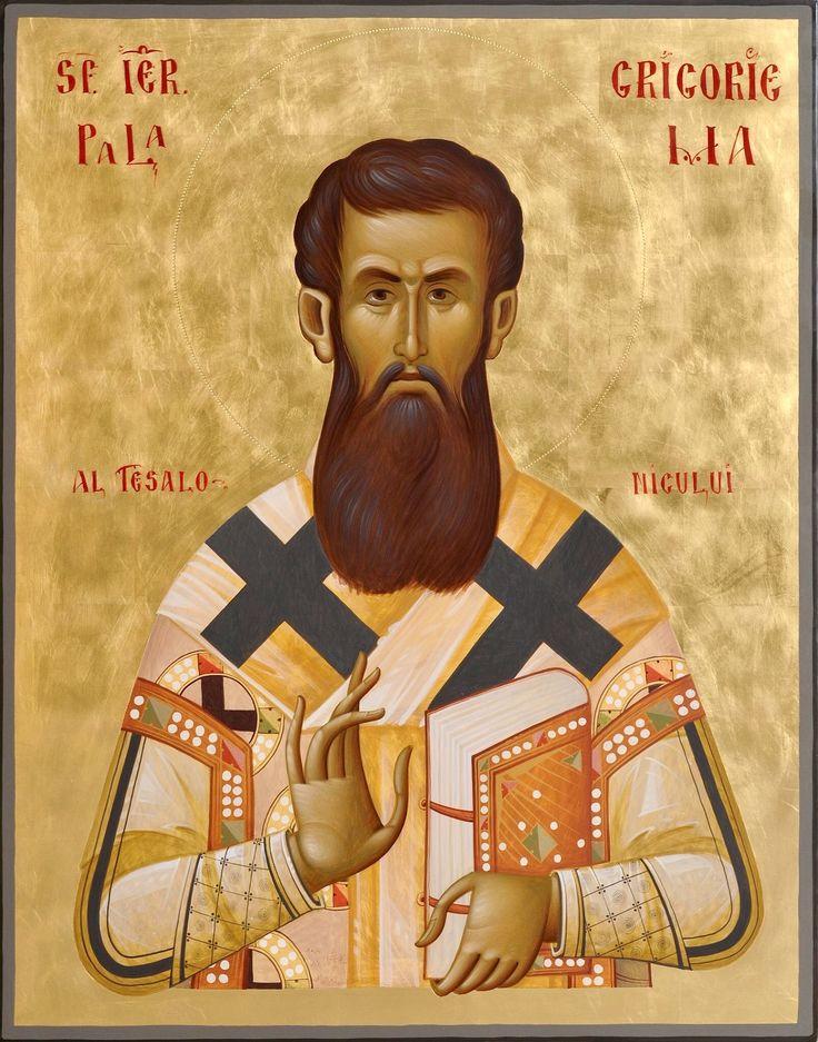 St. Gregory of Palamas by Yaroslava Alekseeva