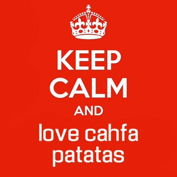 CHAFA PATATAS (e clara...
