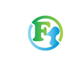 "FM Logo design - the combination of the letter ""F"