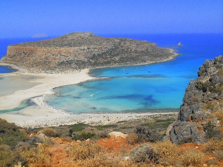 balos lagoon, gramvoussa peninsular, western crete