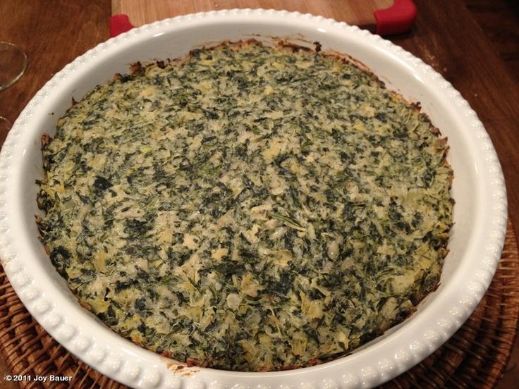 skinny spinach artichoke dip | food=love | Pinterest