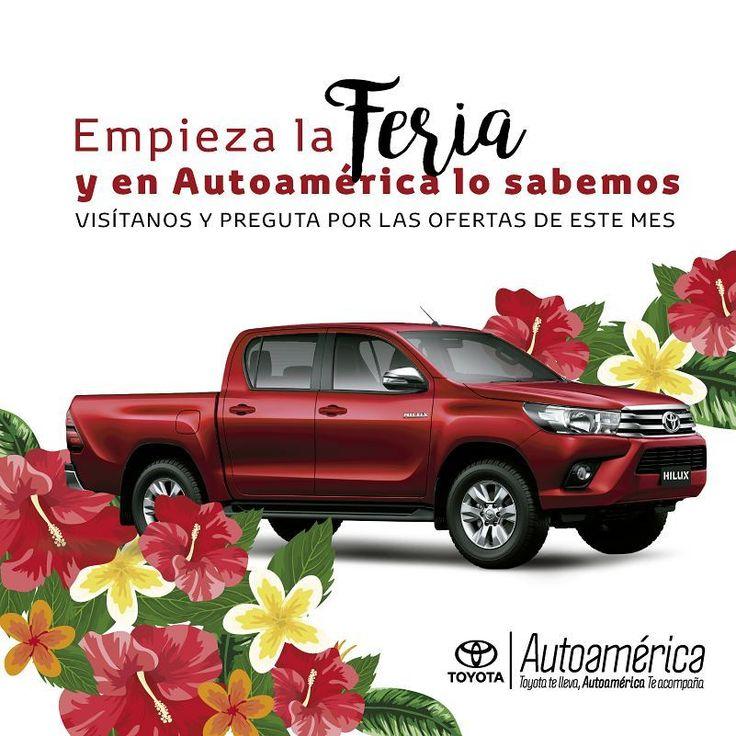 Empieza la #FeriaDeLasFlores y en #Autoamérica lo sabemos. Visítanos y pregunta por nuestras ofertas del mes. www.autoamerica.com.co