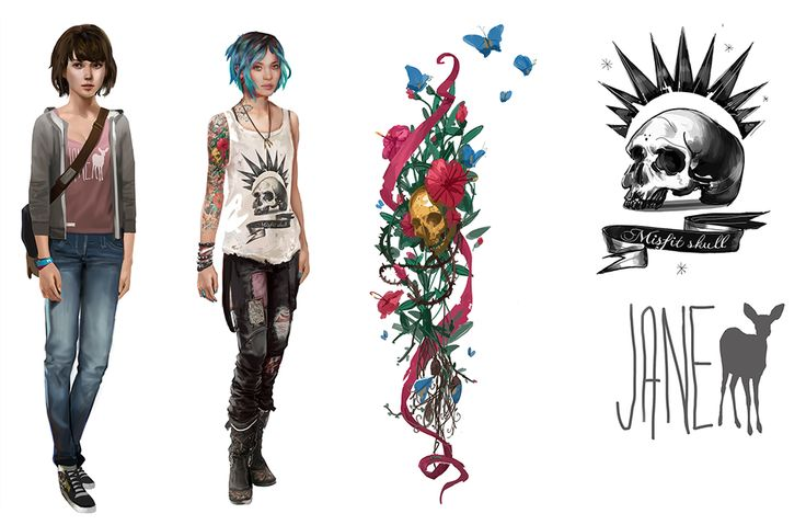 Character Design Price : Life is strange on girls dontnod entertainment and look at