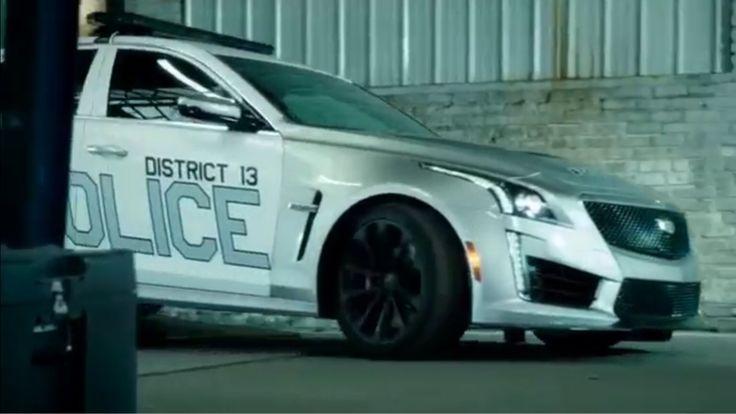 New Cadillac Cts V >> 2017 Cadillac CTS-V Police car from the new 2017 A.P.B. police TV series. | Cadillac | Pinterest