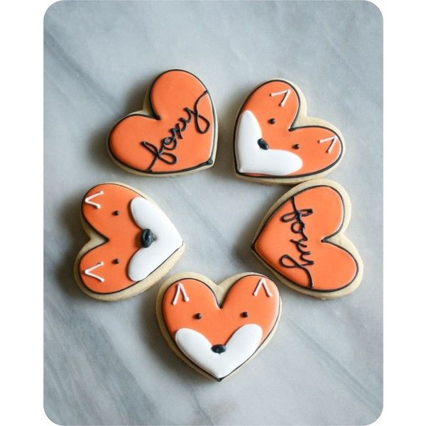 Bake at 350 Stone Cold Fox (cookies) found on Polyvore featuring polyvore, home, kitchen & dining, kitchen gadgets & tools, fox cookie cutter, cooky cutters, heart shaped cookie cutter, stone_cold_fox and heart cookie cutter