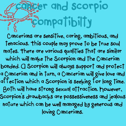 Cancer dating compatibility