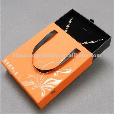 carrier jewellery paper box   sliding sleeve jewellery box packaging - Google Search