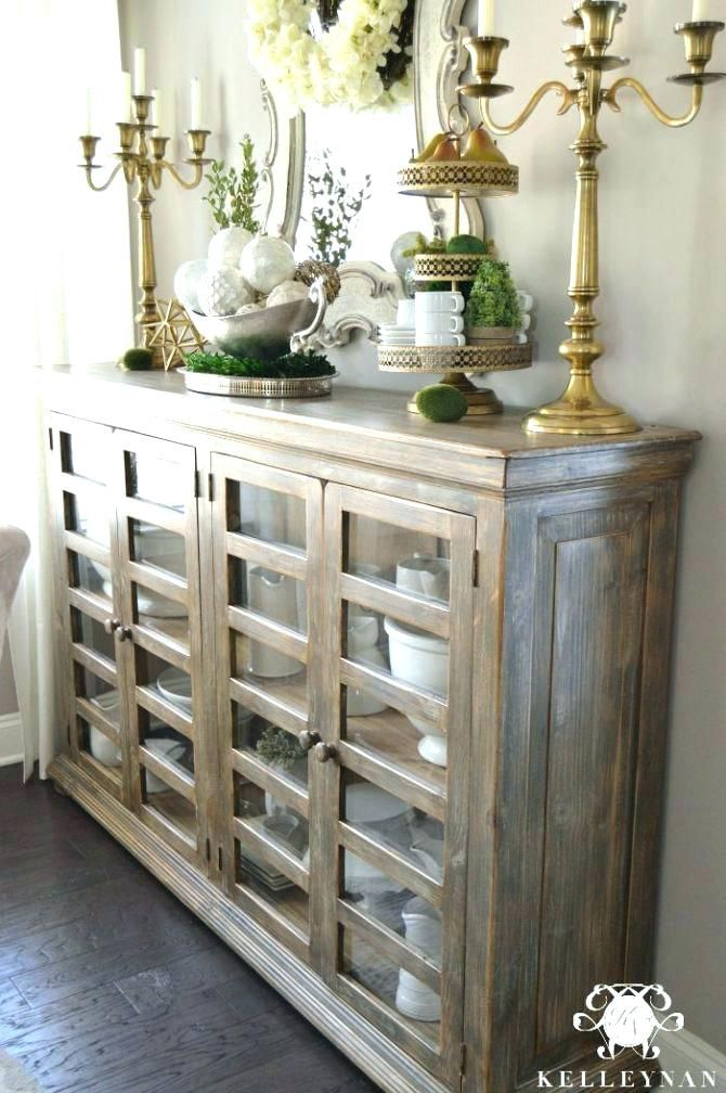 Tall Buffet Lamps Sideboard Medium Size Of Dining Room