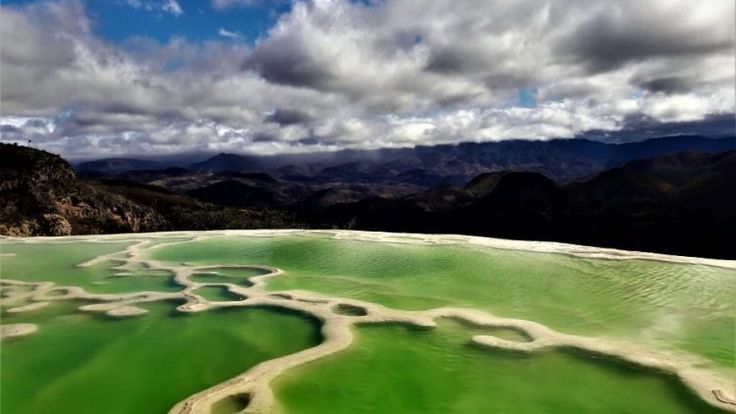 Hierve el Agua – Meksika'da ki Pamukkale