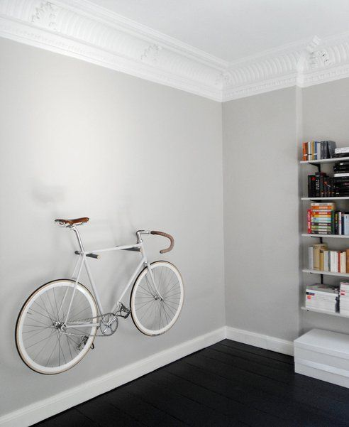 Another Way To Hang A Bike On A Wall: The Bike Hook