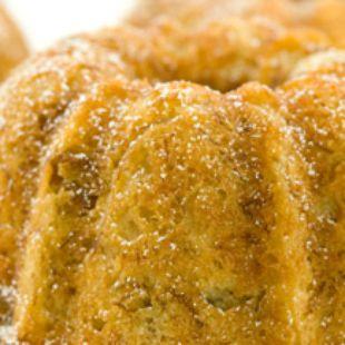 Peachy Maple Pound Cake | Recipe