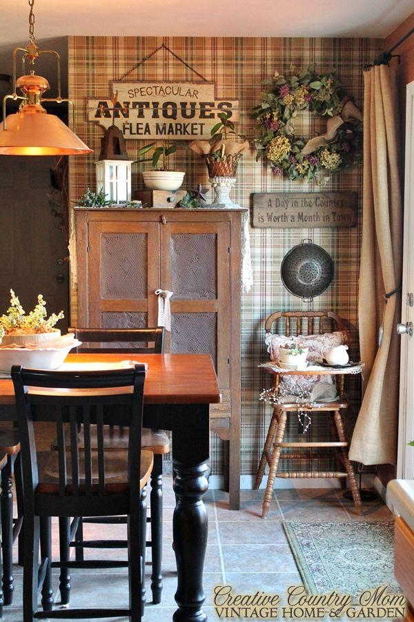 Creative Country Mom's: Farmhouse Style Kitchen Decor