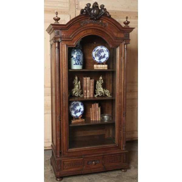 Simple Antique Furniture Antique Bookcases Antique French Napoleon III Walnut Armoire inessa