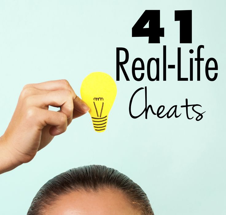 We're always looking for the best life hacks, but this Reddit thread did the work for us and rounded up 80 of the most popular life cheats suggested by commenters. Take these tips with a grain of salt; we did our best to filter out the NSFW, illegal, and seemingly ridiculous ones (it is Reddit after all).