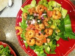 Advocare 10 day cleanse - Mexican Shrimp Salad plus some other ideas