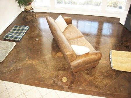 Best Diy Stained Concrete Floors Images Pinterest Staining Cement And