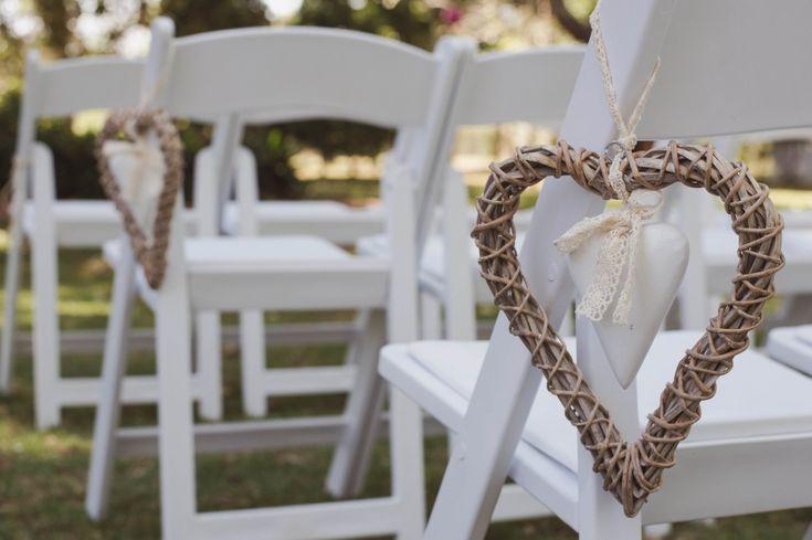 Love! Gorgeous decorating for a wedding ceremony. www.gabbinbar.com.au
