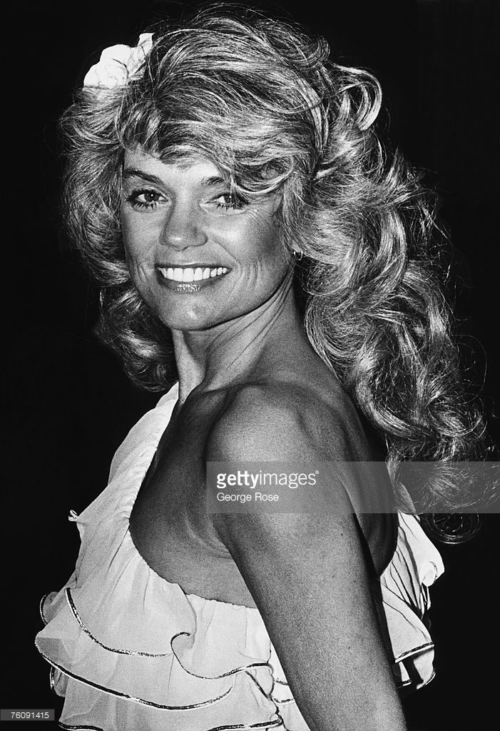 Two-time Academy Award-nominated actress and former wife of Cary Grant, Dyan Cannon, arrives at the 1979 Los Angeles, California, Academy Awards. Cannon starred in the groundbreaking film 'Bob & Carol & Ted & Alice.'