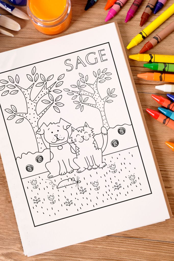 national crayon day printable coloring page sage centers for veterinary specialty and emergency