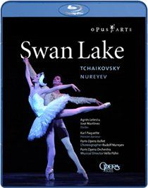 SWAN Lake: Paris Opera Ballet Agnes Letestu and Jose Martinez take the central roles of Odette and Siegried in Rudolf Nureyevs passionate dreamlike interpretation of Tchaikovskys famous ballet performed by the Paris Opera Ballet a http://www.MightGet.com/january-2017-12/swan-lake-paris-opera-ballet.asp