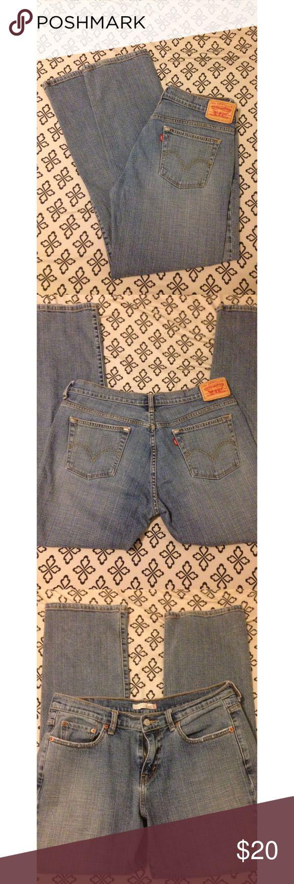 Levi Jeans 505 straight leg Levis 505 jeans. Straight leg. Great condition. Size 10 M Levi's Jeans Straight Leg